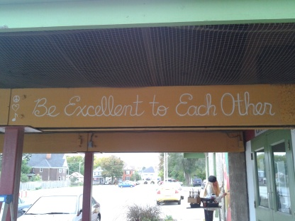 """""""Be Excellent to Each Other"""" (2012)"""