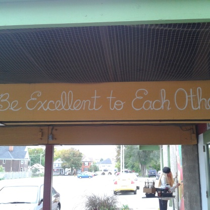 """Be Excellent to Each Other"" (2012)"