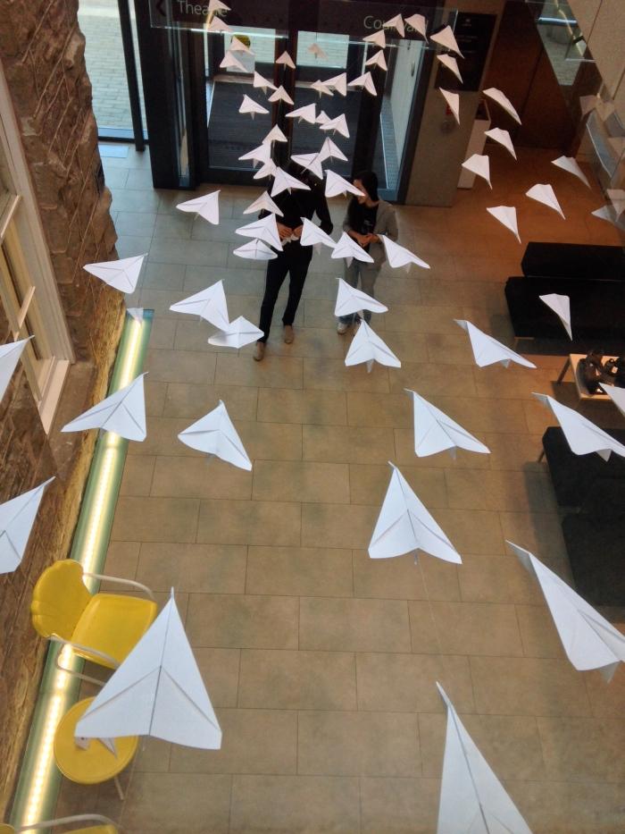 """""""150 Paper Planes"""" (2014)"""