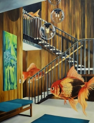 """""""Fish Ascending a Staircase"""" (2019)"""